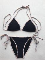 piezas de maillot sexy al por mayor-Bb Diseñador de la marca Bikinis Bikinis de las mujeres de 2 piezas Conjuntos Tankinis Moda de lujo Medusa traje de baño Sexy Lady traje de baño Maillot De Bain