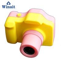 camara de video rosa al por mayor-niños de Winait 5MP cámara de vídeo digital de mini 1.77 '' pantalla TFT de bricolaje cámara rosado lindo regalo digital videocámara compacta