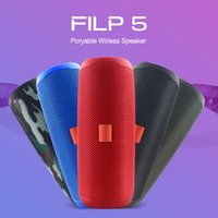 Wholesale Original Bluetooth Speaker Filp5 Waterproof Portable Outdoor Wireless Mini Column Box Support TF card Stereo Hi Fi Boxes Big MP3 T191128