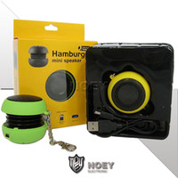 Wholesale smallest mp3 mobile phone for sale - Group buy Wired Small Speakers Home Travel Sports Loudspeaker Candy Colors Unique Speaker for Mobile Phone Tablet Audio MP3 Player with Mah noey