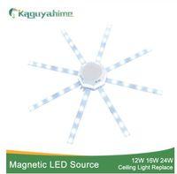ingrosso plafoniera polpo-Lampada a luce magnetica sorgente di luce a LED Lampada da soffitto a luce diurna 12W 16W 20W 24W LED Light Board 220V Lampada a risparmio energetico