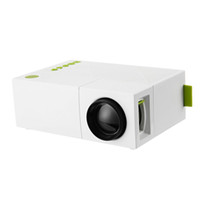 Wholesale digital video resolution resale online - YG310 Mini Projector High Resolution P LCD LED Projection Lum Audio AV Smart Home Cinema Theater Video Projector