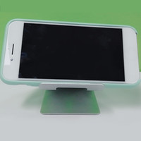 Wholesale universal phone stand aluminum resale online - New Universal Mobile Phone Tablet Desk Holder Aluminum Metal Stand For iPhone iPad Mini Samsung Smartphone Tablets Laptop With Retail Box