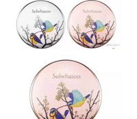 ingrosso aria 21-Coreano Sulwhasoo Perfecting Cushion Limited Edition Magpie Bird Air Cuscino BB Cream CC Cream NO.21 Spedizione gratuita DHL