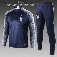französische kinderkleidung groihandel-Adidas Kinder 18/19 Anzug Frankreich Kind Kinder 18-19 18-19 Französisch Kinderkleidung Jacke 10 # 18 # Fußball Jersey Anzug