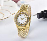 Wholesale fashion watch ice for sale - 2019 luxury women watches diamond iced out quartz watch fashion dress brand designer ladies Wristwatches Montres pour femmes