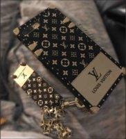 caja del teléfono de la cadena al por mayor-Estuche de teléfono al por mayor con el llavero