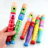 çocuklar için alet toptan satış-Çocuklar eğitici oyuncaklar bebek kız erken eğitim Klarnet fluteds Enstrüman beyin oyunu hediye bebek için
