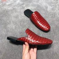 respira libremente al por mayor-2019 zapatos del ocio de calidad superior de los hombres Ambas exterior interior se importan de vaca cómodo respira libremente las zapatillas de moda masculina