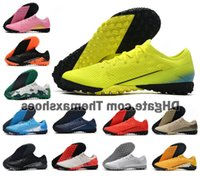 Wholesale soccer shoes sizes 39 for sale - Group buy Mens Mercurial Vapors Xiii Pro Tf Mds Turf Indoor Cr7 Cristiano Ronaldo Njr Neymar Soccer Football Shoes Cleats Boots Size