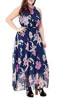 robe maxi mousseline florale bohème achat en gros de-