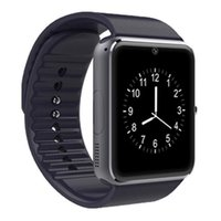 Wholesale andriod watches resale online - New Smart Watch GT08 for Andriod Mobile Phone Bluetooth Watch with SIM Card Watch for IOS Wearable Device Phone free DHL