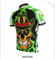 Wholesale spring cycling jersey resale online - Mens cycling jersey green Brand mtb kleren customized riding bike clothing short sleeve ropa ciclismo maillot