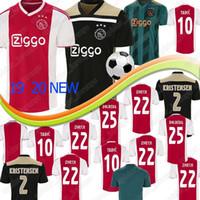 Wholesale uniform for sale - Group buy Thailand AJAX home Soccer Jerseys DE JONG away Shirt ajax TADIC DE LIGT ZIYECH Men football uniforms