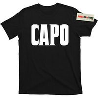 Wholesale red capo for sale - Group buy The Godfather Capo Captain II Donnie Brasco John Gotti Don Corleone T Shirt