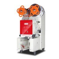 Qihang_top Automatic Bubble tea Cup sealer machine Digital Count Cup sealing For 90 95mm Coffee Milk tea cup