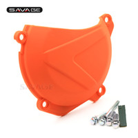 Wholesale motorcycle engine guards for sale - Group buy Engine Clutch Case Cover Guard For KTM SX F XC F EXC F Motorcycle Accessories Left Protector
