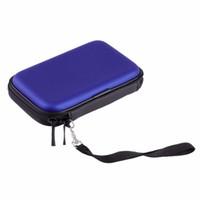 harici sürücü çantası toptan satış-Harici Depolama Sabit Disk Çanta Kılıfları El Taşıma çantası Kapak Kılıfı için 2.5