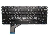 teclados sin marco al por mayor-Teclado Portátil Para Haier Inglés EE.UU. Rusia RU JM245-3-US K667 Negro Sin Marco Nuevo Original
