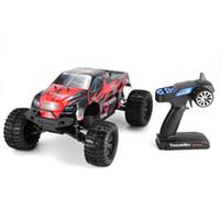 controle de carro de buggy venda por atacado-1/10 Trovão 4WD Brushless 70 KM / h Corrida RC Car Bigfoot Buggy Truck RTR Brinquedos de Controle Remoto Do Veículo de Escalada Do Carro Modelo RC EUA / UE
