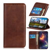 cubot phone großhandel-Luxus Rindsleder Brieftasche Fall für Cubot Power Cover Leder Flip Cover Fall für Cubot X19 Phone Cases