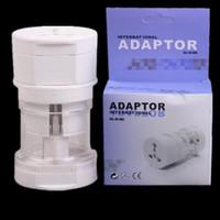 plug em todo o mundo venda por atacado-Universal International Worldwide carregador de parede AC Power Adapter com AU US UK EU Plug All in One DC Tomada carregador adaptador