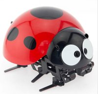 Wholesale pet robot toys for kids for sale - Intelligent Ladybug Robot Wireless Remote Control Electronic Toy RC Bionic Insect Digital Pet for Kids Over Years Old x AAA Batteries