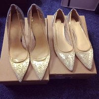 zapatos de bling para boda al por mayor-