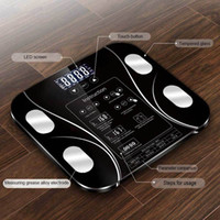 Wholesale health weighing scale for sale - Group buy 5 kg Body Weight Scale Body Fat Electronic Scales Floor Digital Scale Water Mass Health Precision Smart Weighing Scales Y200106