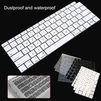 teclado macbook à prova d'água venda por atacado-Protetor de teclado de silicone novo para macbook a1932 eua layout de teclado capa filme à prova d'água