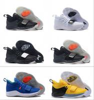 f5f7fe41af7d4 Paul George 2.5 Wolf Grey PG Hornets Basketball Shoes for Good quality 2.5s  Black White Blue Men Designer Sneakers Size 40-46