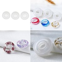 Wholesale resin casts for sale - Group buy 3pcs Flexible Durable Silicone DIY Ring Mold Making Resin Casting Jewelry Rings Mould Handmade Dried Flower Decorative Crafts