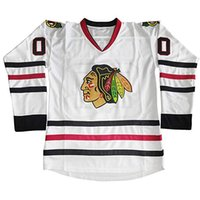Wholesale men movie costumes online - Clark Griswold Blackhawks Jersey Clark Griswold National Lampoons Vacation Movie Costume Hockey Jerseys Chicago Blackhawks Christmas Gift