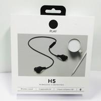 ingrosso trasduttore auricolare veloce-B0 BO Play H5 Cuffie senza fili Bluetooth Cuffie senza fili Suono piacevole e vestibilità comoda Nave libera veloce