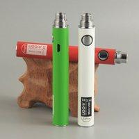 atomizadores ugo v venda por atacado-Ugo Vape Bateria Ugo V II V2 Bateria 900 mAh para GS H2 Clearomizer Atomizador Cigarro Eletrônico Vaporizador Vape Pen Blister Bateria De Arranque