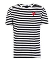 rayas blancas negras camisetas al por mayor-Marca de diseñador para hombre Camiseta con estampado casual de moda Logotipo de rayas en blanco y negro Algodón de manga corta Cómodo y transpirable Lujo