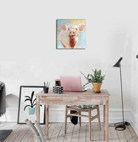 Wholesale art painting frames for sale - Group buy Hot sales Wholesales PC Frame Modern Style Abstract Cartoon Pig Inkjet Printing Crafts Gifts Arts