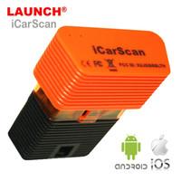 yeni lansman teşhisi toptan satış-2018 Yeni LAUNCH X431 iCarScan Easydiag Değiştirin Otomatik Teşhis Aracı Tam Sistemleri Için Android / IOS Ile 10 Ücretsiz Yazılım
