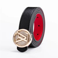 ingrosso modelli di design della cintura di cuoio-Nuovi modelli da uomo Cintura di lusso per donna Cintura in vera pelle Cinture da uomo di design da uomo di alta qualità con fibbia in vita o jeans