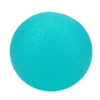 голубые шары для продажи оптовых-Горячий шарик сжатия массажа силикона СБЫВАНИЙ для усилия тренировки прочности рук перста желтый, померанцовый, красный, голубой, зеленый цвет