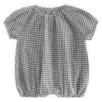 Wholesale new born unisex clothes for sale - WLG new born baby clothes toddler boys girls plaid cotton rompers kids casual all match clothes months