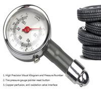 Wholesale mini car gauges resale online - Mini Tire Pressure Gauge Tire Pressure Gauge High Precision With Box Car Emergency