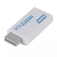 Wholesale full hd tablets resale online - Wii to HDMI P Converter Wii2HDMI Adapter mm Jack Audio Video Output Full HD P Output For HDTV
