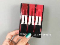 Wholesale english lipsticks for sale - Group buy Hot sale NEW matte Lipstick M Makeup Luster Retro Lipsticks Frost Sexy Matte Lipsticks g Travel Set lipsticks with English Name
