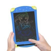 öğrenen tablet tablet toptan satış-Renkli Öğrenme Eğitim Yazı Tahtası Çocuklar için 8.5 Inç Renk Tablet LCD Bloknot Çizim Grafik Kurulu Çizim Oyuncaklar