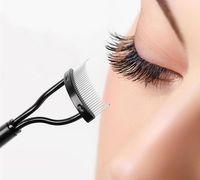 Wholesale guide tool eyelash for sale - Group buy Make Up Mascara Guide Eyebrow Eyelash Comb Curler Eyebrow Eyelash Brush Eyelash Extension Tool Makeup Tool