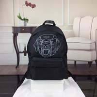 köpek okulu sırt çantaları toptan satış-Sırt çantası Erkek markalar Sırt Çantası Unisex Bagpacks Womens köpek GY ile ünlü Okul Çantası sıcak Çanta Balck