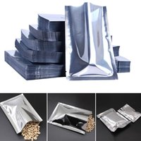 Wholesale heat sealable fabrics for sale - Group buy 100pcs Antistatic Aluminum Storage Bag Kitchen Accessories Sealed Bags Moisture Proof Resealable Heat Sealable Bag