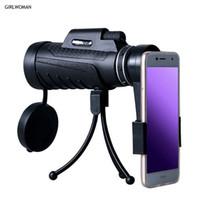 teleskop mobil für iphone großhandel-Kogngu Universal 40X60 HD Zoomobjektiv Monokular für Smartphone Zoom Optisches Teleskopobjektiv für iPhone Android-Handy-Kamera