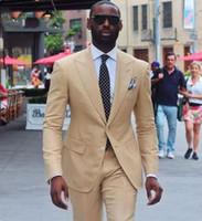 Casual uomo nero abiti per abiti da sposa Best man blazer Custom made smoking dello sposo 2Pezzo cappotto pantaloni Slim Fit Costume Homme Evening